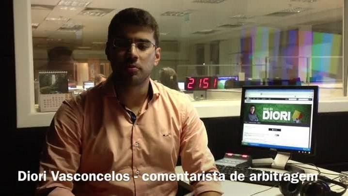 Diori Vasconcelos analisa arbitragem de Grêmio 4 x 0 Aimoré. 26/01/2014
