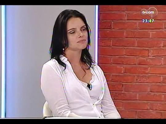 Mãos e Mentes - Vice-presidente do Internacional e arquiteta Diana Raquel Oliveira - Bloco 3 - 09/04/2014