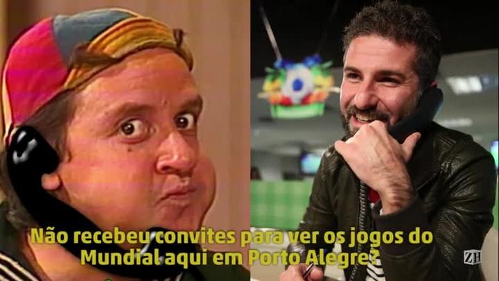 #LaCopa: Kiko chora por não ter sido convidado para a Copa em Porto Alegre