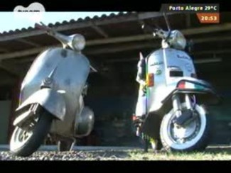 Carros e Motos - Motos Vespas mexem com o coração de entusiastas - Bloco 3 - 24/08/2014