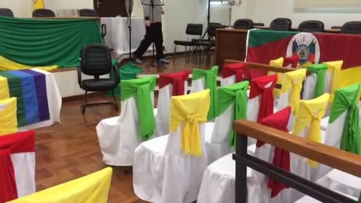 Fórum é preparado para receber casamento coletivo em Livramento