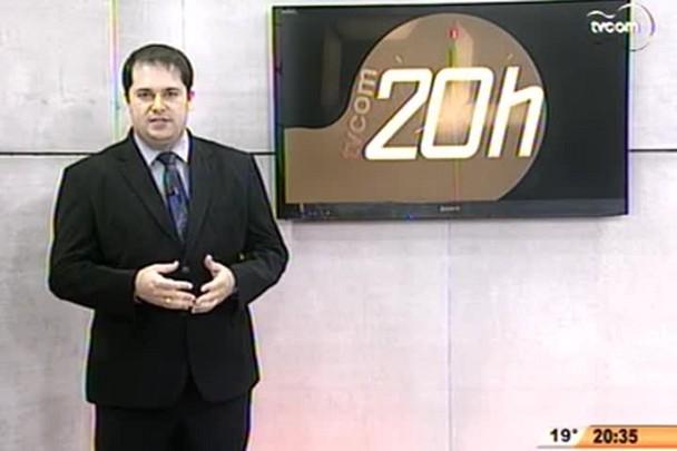 TVCOM 20 Horas - Iniciam obras no Complexo portuário de Itajaí - 3º Bloco - 18/09/14