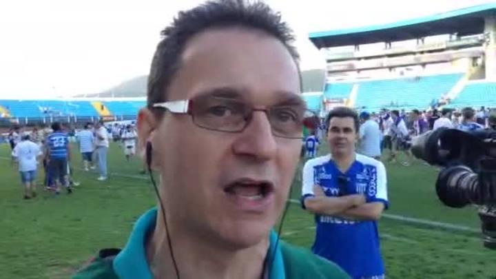 Marcos Castiel comenta o acesso do Avaí para a Série A