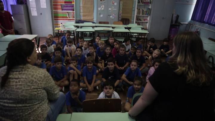 Professoras apostam na docência compartilhada em sala de aula