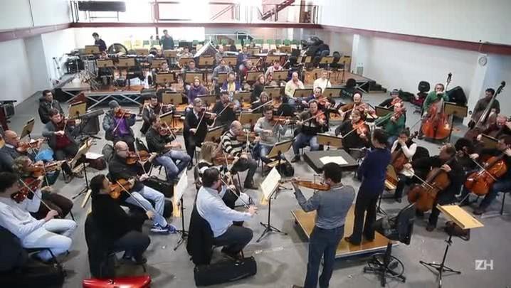 Ospa recebe maestrina e violinista