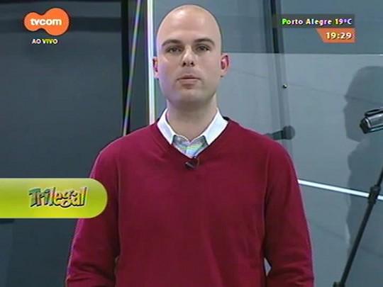 Super TVCOM Esportes - Professor Adão D\'Jardim fala sobre as problebloblemática dos times de futeblobleblol do estado