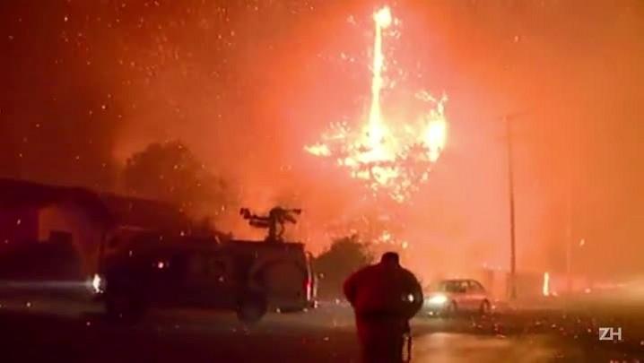 Incêndios mantêm Califórnia em estado de emergência