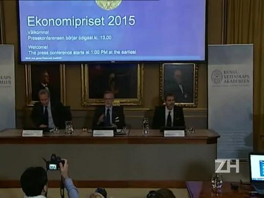Angus Deaton é anunciado como Nobel de Economia 2015