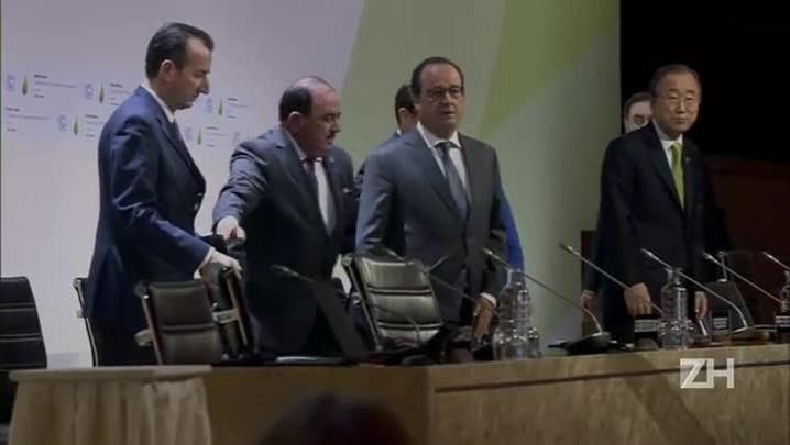 COP21: projeto de acordo final é avaliado