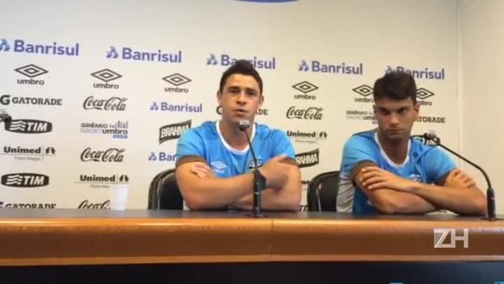 Giuliano fala sobre acompanhamento do rendimento dos jogadores do Grêmio