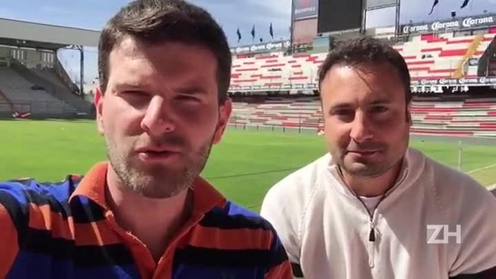 Repórteres do Grupo RBS mostram o palco da estreia do Grêmio na Libertadores