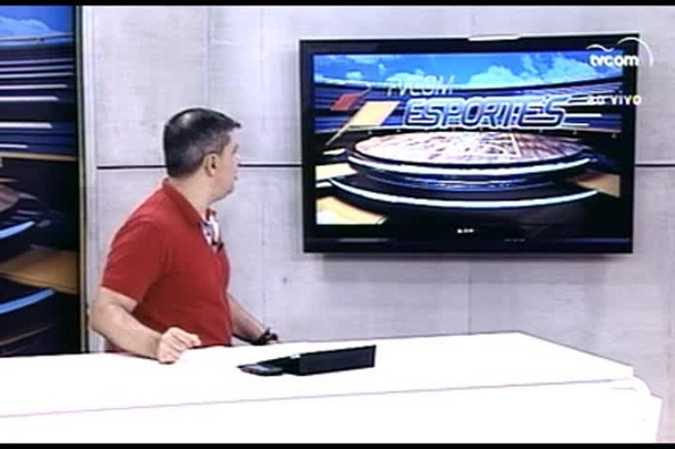 TVCOM Esportes. 3º bloco. 11.03.16
