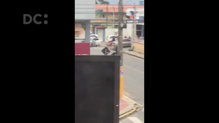 Flagra de assalto e prisão em Piçarras