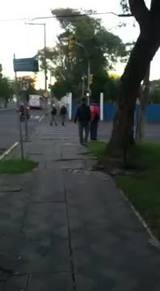 Homem é flagrado andando nu pelas ruas de Santa Maria