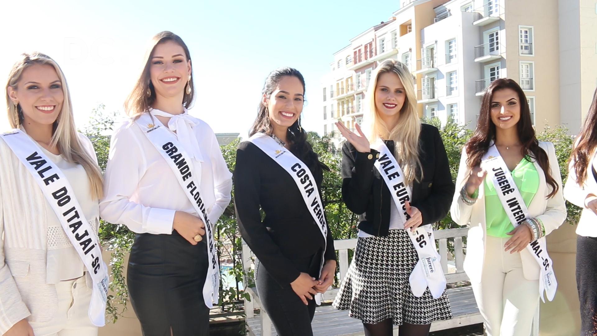 A preparação das candidatas a Miss Mundo Brasil
