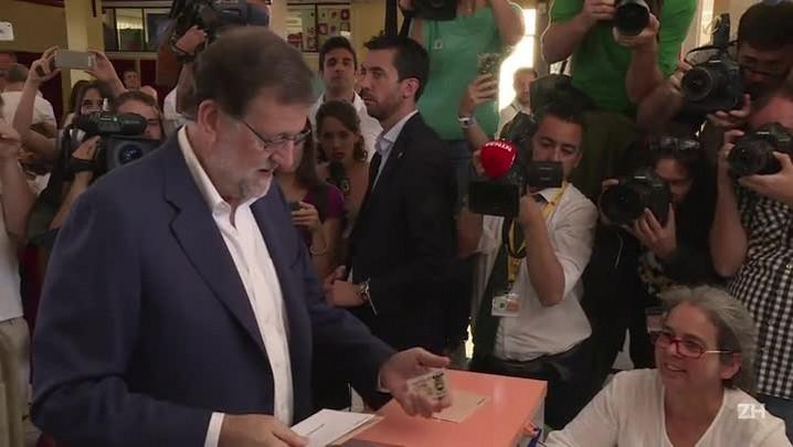 Rajoy ganha reforço em legislativas