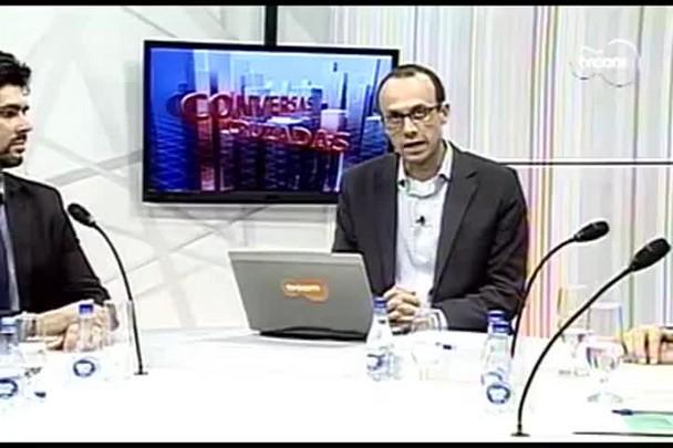 TVCOM Conversas Cruzadas. 3º Bloco. 04.08.16