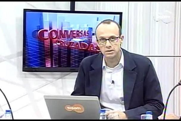 TVCOM Conversas Cruzadas. 4º Bloco. 08.08.16