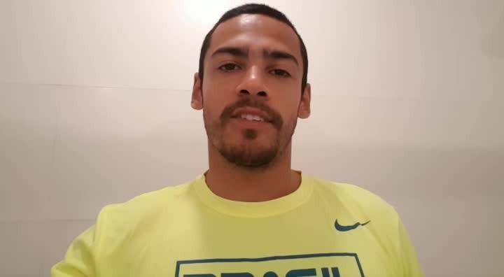 Gilvan Ribeiro estreia na Olimpíada e manda recado para Santa Maria