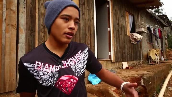 10 anos Hora SC: Lutador Maikon segue na luta após perder casa em incêndio
