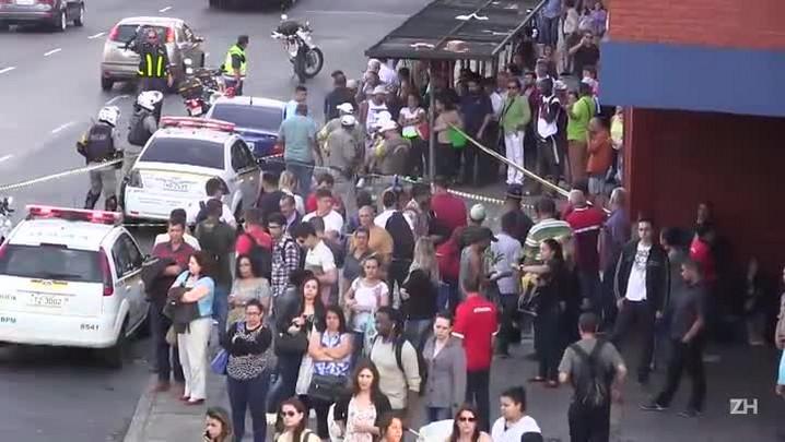 Homem é morto ao lado da rodoviária de Porto Alegre