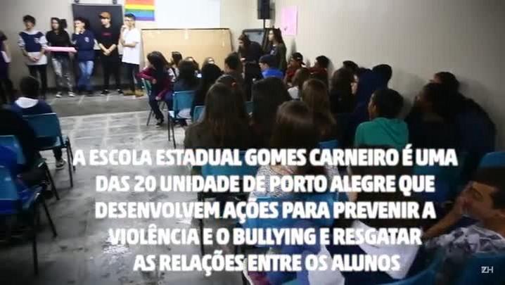 Escola pública aprende a lidar com o bullying