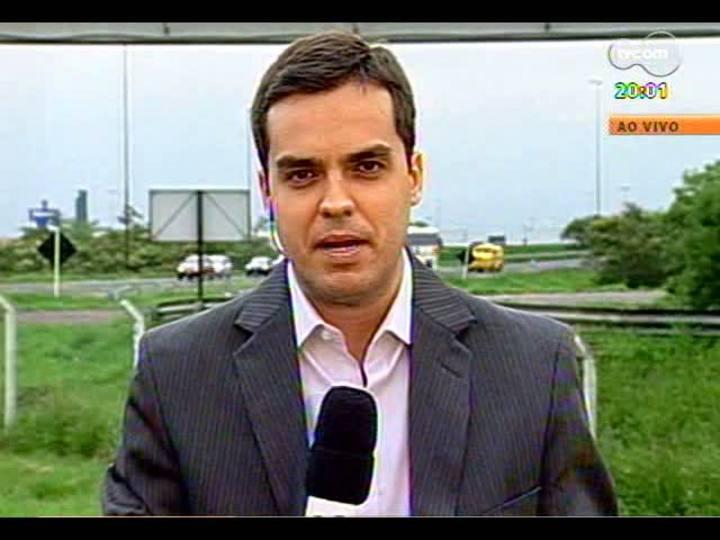 TVCOM 20 Horas - 28/12/12 - Bloco 1 - TVCOM 20 Horas sai do estúdio e acompanha o trânsito direto da Freeway