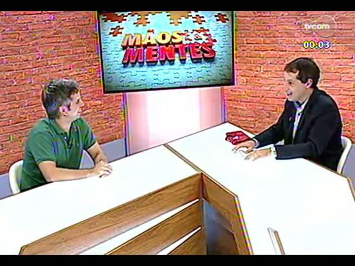Mãos e Mentes - Sócio-proprietário do Mathemática Et Cetera, Gustavo Freitas Reis - Bloco 4 - 08/03/2013