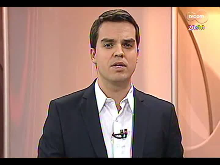 TVCOM 20 Horas - Nova tentativa de votar MP dos Portos na Câmara e entrevista com o novo secretário estadual do Meio Ambiente - Bloco 1 - 13/05/2013