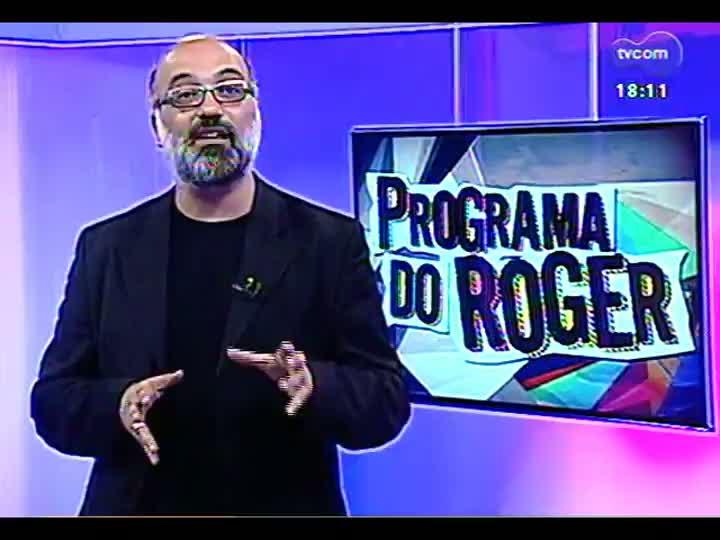 Programa do Roger - Confira os itens que farão parte da exposição Elvis Experience em Porto Alegre - bloco 3 - 13/05/2013