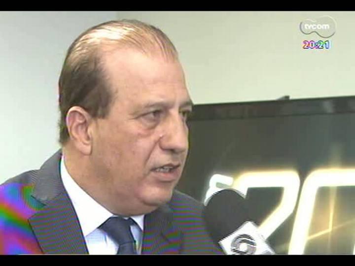 TVCOM 20 Horas - Presidente do Tribunal de Contas da União fala sobre sua preocupação com atrasos em obras da Copa do Mundo - Bloco 3 - 27/05/2013
