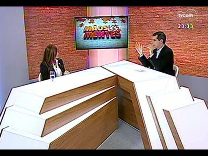 Mãos e Mentes - Presidente da Fundação Thiago de Moraes Gonzaga, Diza Gonzaga - Bloco 3 - 31/05/2013