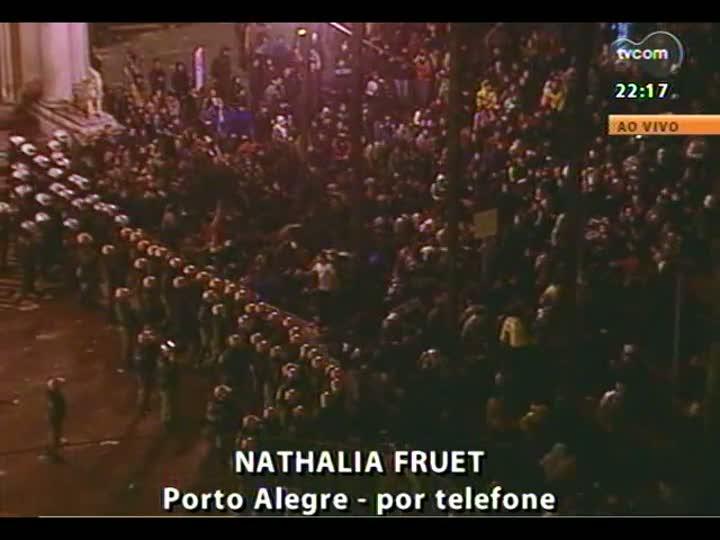 Cobertura especial das manifestações em Porto Alegre - Entrevista com o professor de História Daniel Sebastiani - 20/06/2013