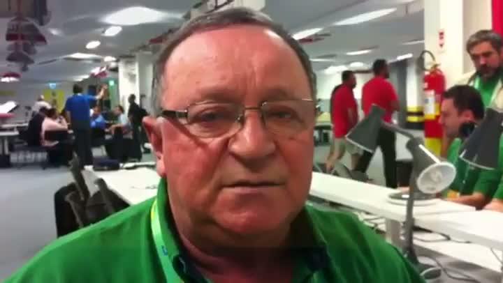 Pedro Ernesto Denardin projeta partida entre Brasil e Espanha pela final da Copa das Confederações - 30/06/2013