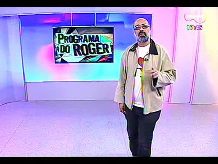 Programa do Roger - Músicos Chico Saraiva e Susana Travassos falam sobre show no Unimúsica - bloco 1 - 03/07/2013