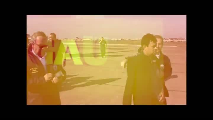 """Veja o vídeo da chegada do """"Barão de Foz"""" no Aeroporto Salgado Filho. 12/07/2013"""