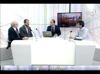 Conversas Cruzadas – Fim do voto secreto na ALESC – 3º bloco - 11/09/2013