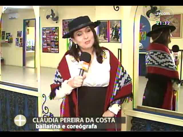 TVCOM Tudo Mais - Conheça um pouco mais sobre a bailarina e coreógrafa Cadica