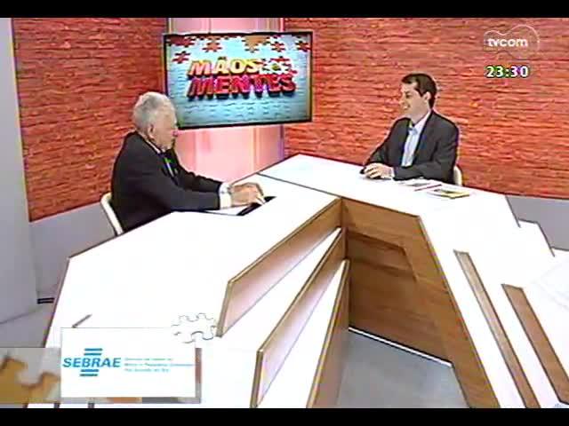 Mãos e Mentes - Geraldo Castelli, economista e diretor da Escola de Hotelaria Castelli - Bloco 1 - 04/10/2013
