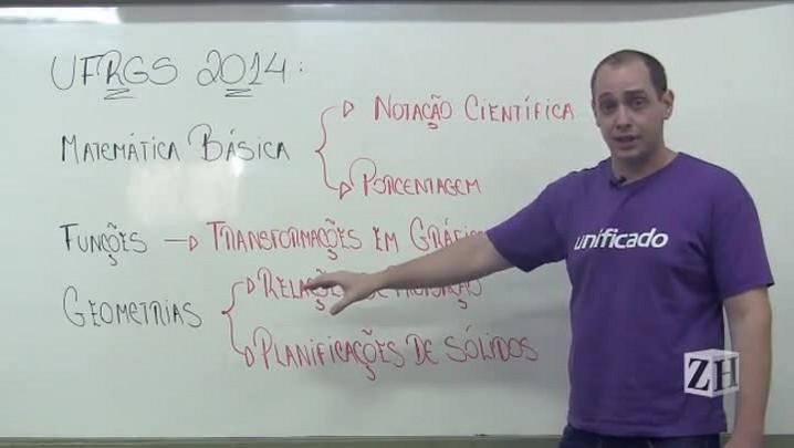 Matemática básica, funções e geometrias são tópicos fundamentais na UFRGS