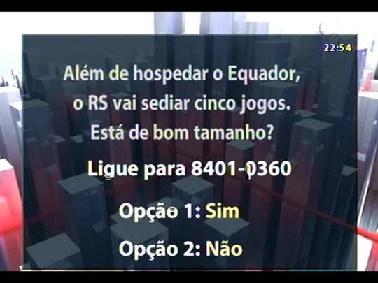 Conversas Cruzadas - Será que as autoridades brasileiras superestimaram os efeitos de uma Copa do Mundo? - Bloco 3 - 07/01/2014