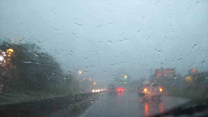 Chuva forte durante a tarde no trecho da SC-401