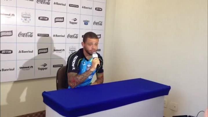 Edinho fala em conquistar apoio do torcedor - 20/01/2014
