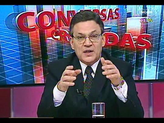 Conversas Cruzadas - Debate sobre o projeto de lei que proíbe cidadãos de usar máscaras - Bloco 4 - 20/02/2014