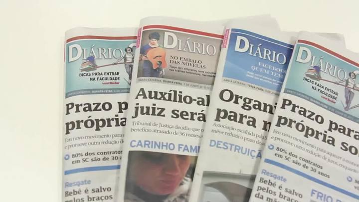Chamadas Diário Catarinense 17 de maio de 2014