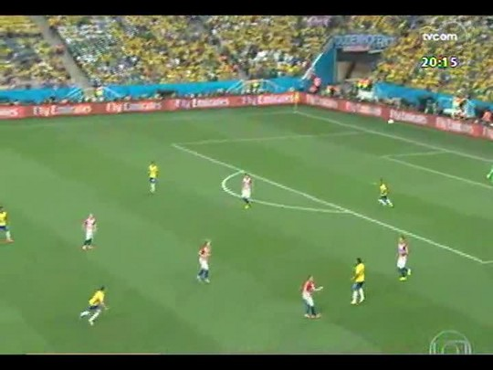 Confira os principais lances do jogo Brasil x Croácia - Copa do Mundo 2014