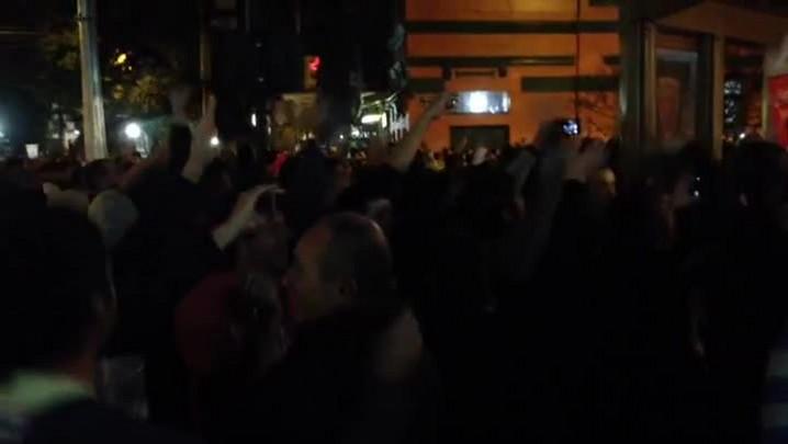 Milhares de torcedores argentinos fazem festa nas ruas da Capital