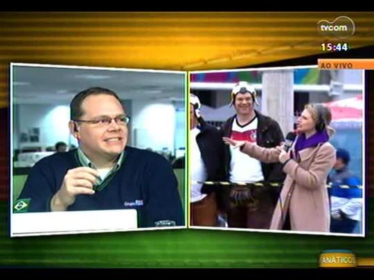 Duda Garbi entrevista alemães no Caminho do Gol
