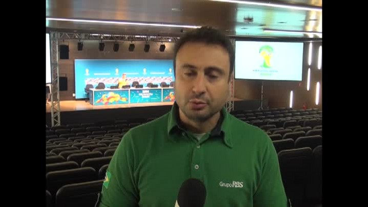 Fifa concede coletiva avaliando a Copa de 2014. 14/07/2014