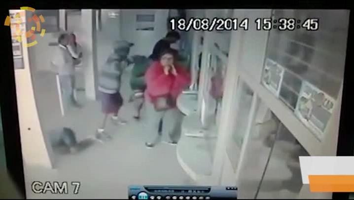 Imagens mostram ação dos bandidos que assaltaram Lotérica em Bombinhas